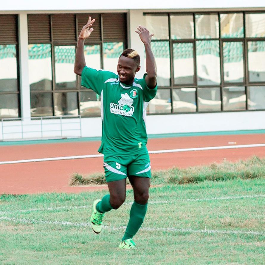Hasaacas striker Eric Bekoe lauds side's comeback against Bechem United