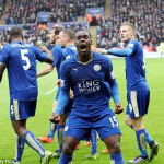 Jeffrey Schlupp the youthful power giving Leicester's title bid a little extra gas