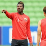 Asamoah Gyan fires warning at Melbourne Victory ahead of Champions League clash