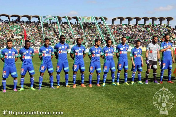 Awal Mohammed's Raja Casablanca could go top of Moroccan league with a win today
