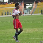 WAFA forward Samuel Tetteh says he is sorry after being sent off against Hearts of Oak