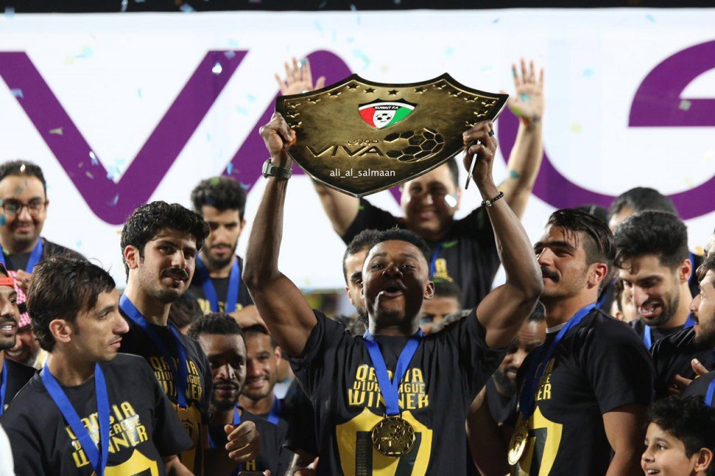 PHOTOS: Rashid Sumaila wins Kuwait Premier League with Al Qadsia