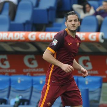LEICESTER keen on Roma's defender Manolas