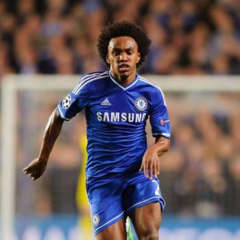 MANCHESTER UNITED set sights on Willian