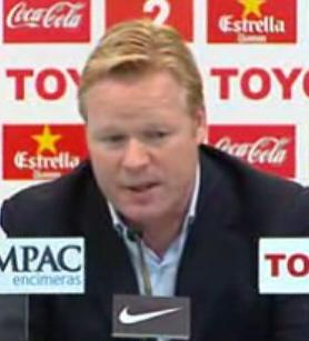 EVERTON - Hopes for Koeman decreasing