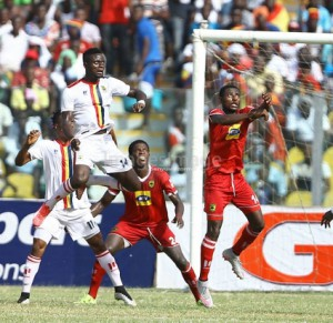 Kotoko defender Ahmed Adams delighted with win over sworn rivals Hearts of Oak