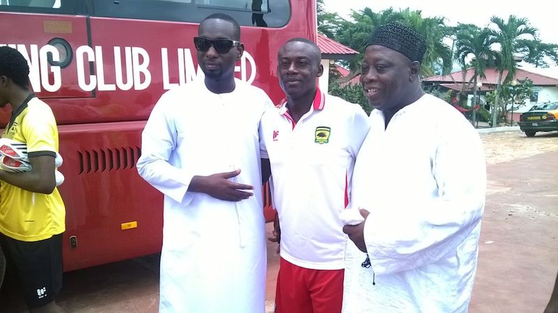 'My love for Kotoko engineered the boots donation' - Afro Arab Group of Companies CEO