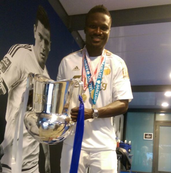English Premier League winner Daniel Amartey collects Danish Superliga and Cup medals as former club FC Copenhagen crowned champions