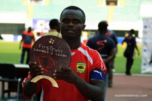 Kotoko to be without captain Amos Frimpong ahead of Dwarfs clash due to international assignment
