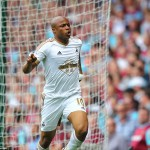 VIDEO: Watch Andre Ayew's finish for Swansea City against West Ham Utd