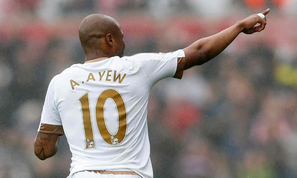 Swansea ace Andre Ayew listed in EA Sports EPL Team of the Week