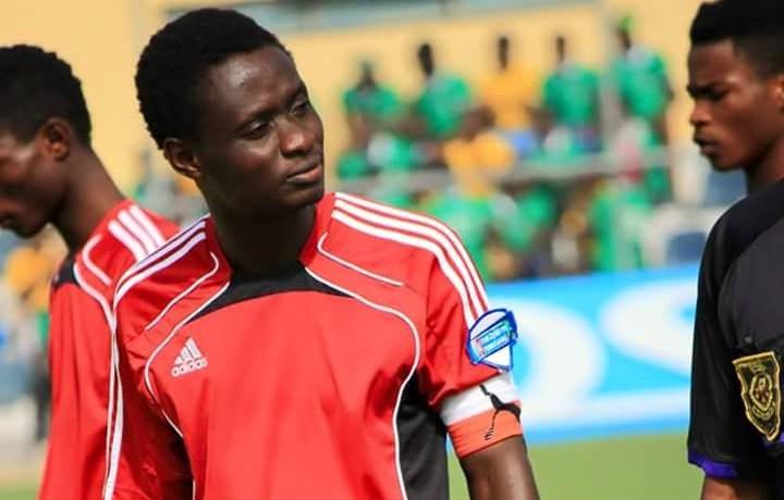 Former WAFA captain Martin Antwi training with giants Asante Kotoko
