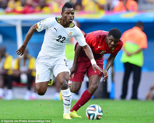 I will still play for the nation even if we are not paid-Mubarak Wakaso