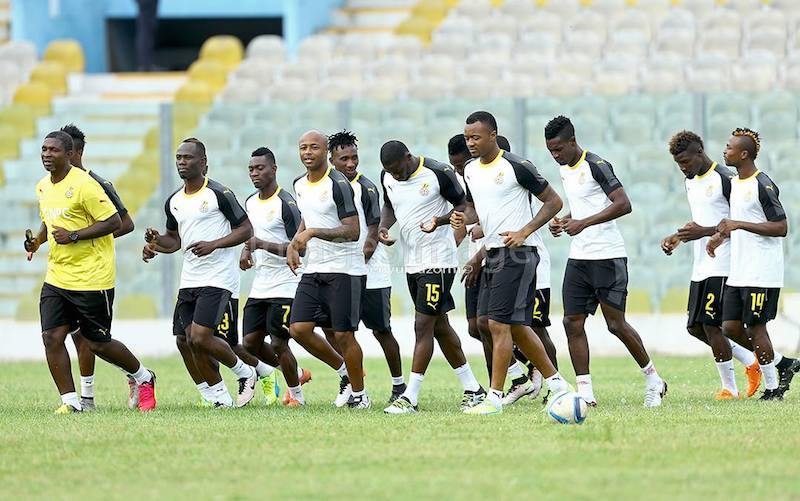 397938d76 VIDEO  Watch Black Stars train for the first time in new Puma kits ...