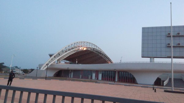 Ghana President John Mahama to commission new Cape Coast Stadium today