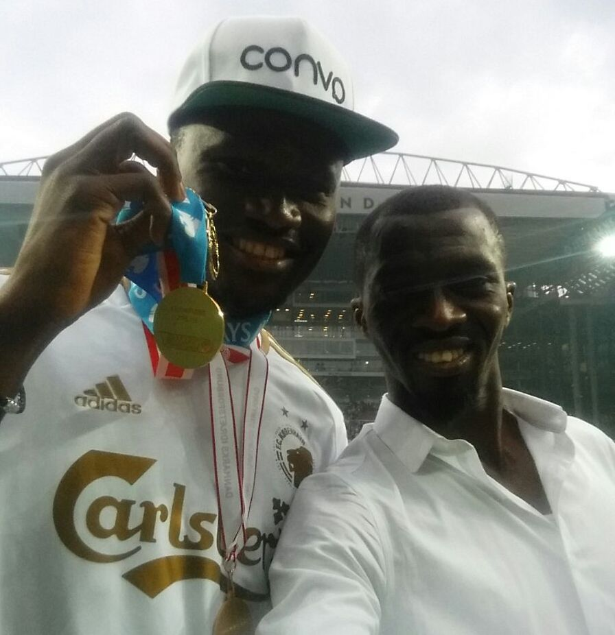Daniel Amartey picked up two medals in Denmark on Sunday.