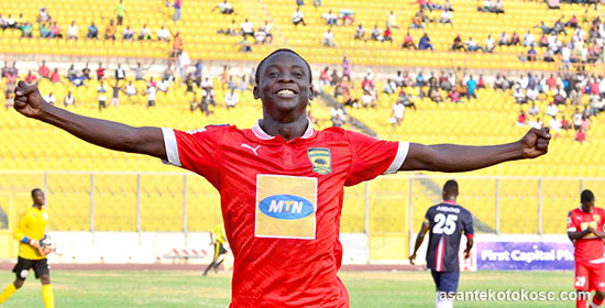 Ghanaian giants Kotoko slap $1 million price-tag on teen striker Dauda Mohammed