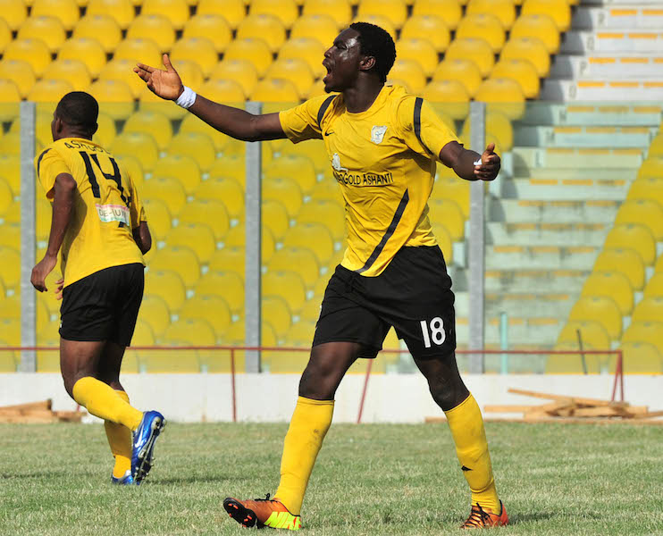 OFFICIAL: Asante Kotoko capture AshGold striker Emmanuel Osei