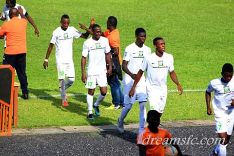 Ghana Premier League Match Report: Dreams FC 2-1 Sekondi Hasaacas - Eric Gawu's late winner lifts Dreams