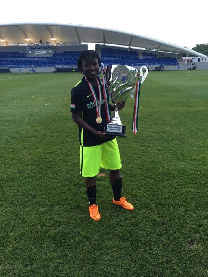 Black Queens midfielder Elizabeth Addo wins Hungarian Cup title with Ferencvaros FC