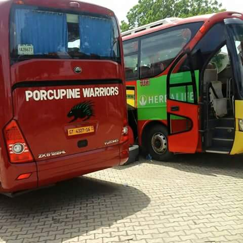Pictures: Asante Kotoko's new branded bus ahead of derby game against Hearts of Oak