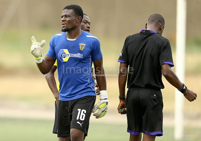 Nigeria-based goalkeeper Fatau Dauda axed from Black Stars set up
