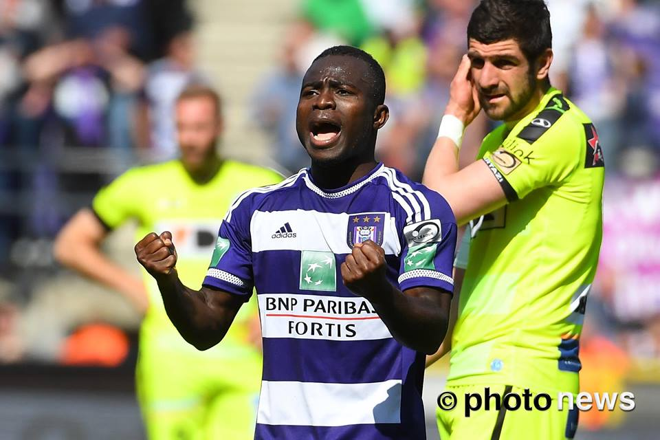 Frank Acheampong strikes to inspire Anderlecht in Belgium's Championship Play-off