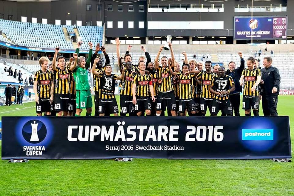 Ghanaian trio Nasiru, Abubakari and Mensah win Swedish Cup with BK Hacken