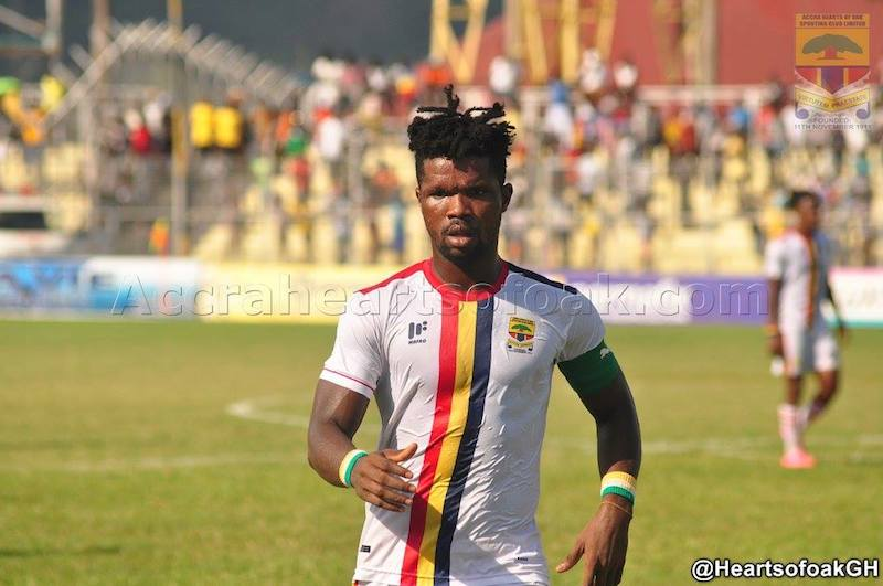 Special Competition: Rubin Gnagne backs Hearts to beat Kotoko