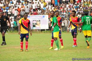 Video: Watch highlights of Hearts of Oak's 1-1 draw at Aduana Stars