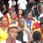 Video: Hearts of Oak fans mass up behind stadium as Phobians played Hasaacas