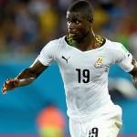 Defender Jonathan Mensah captained Black Stars in Namibia defeat