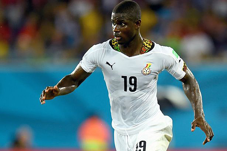 Defender Jonathan Mensah captained Black Stars in Namibia defeat