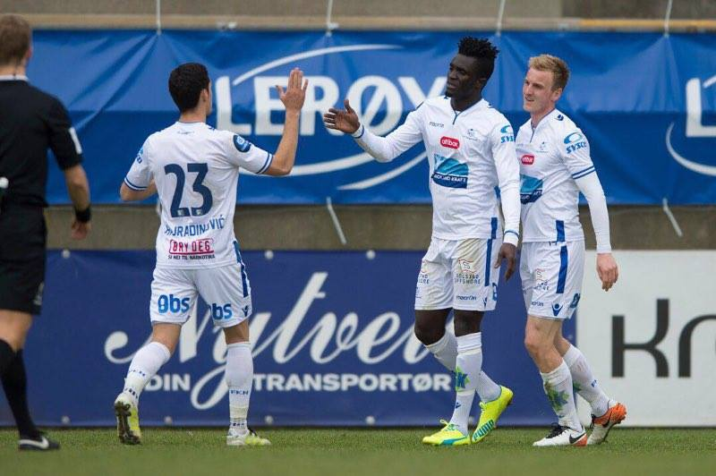 Ghanaian forward Kwame Karikari hits brace to propel Haugesund in Norwegian Cup