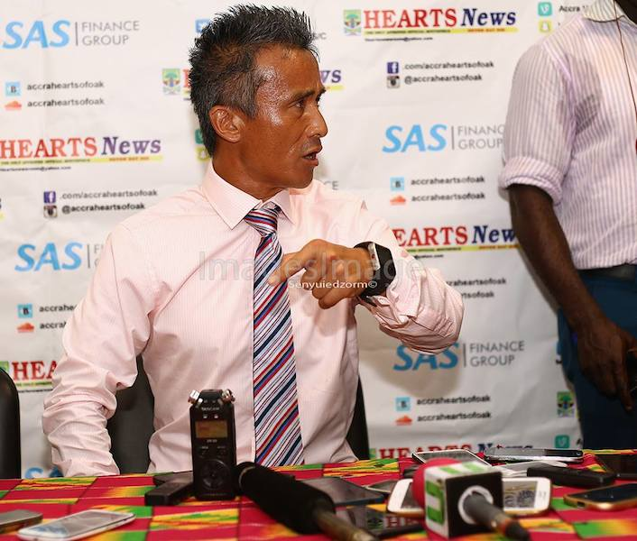 Hearts coach Kenichi storms out of post-match press conference after Liberty defeat