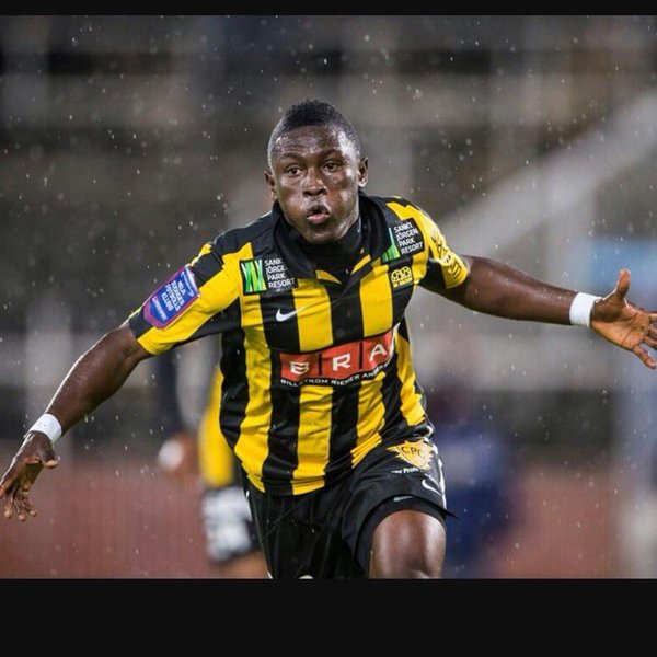 Ghana striker Majeed Waris sends congratulatory message to former club BK Hacken and Ghanaian trio on Swedish title triumph
