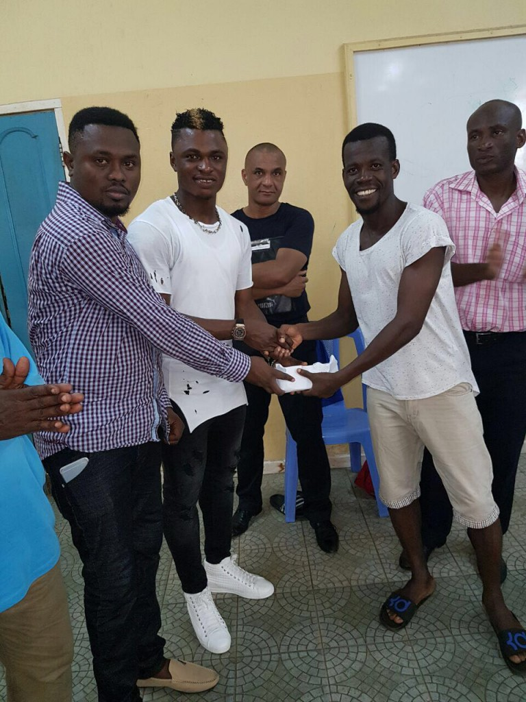 Rashid Sumaila rewards Dwarfs players for win over Aduana Stars