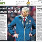 Today's newspaper gossip: Wenger set for new Arsenal deal; Everton want Koeman