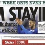 Today's newspaper gossip: Mahrez confirms Leicester stay, Matic heading to Juventus