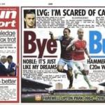 Today's newspaper gossip: Spurs target Adam Lallana; West Ham want Walcott