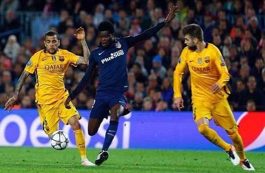 Ghana's Thomas Partey misses out on champions League glory
