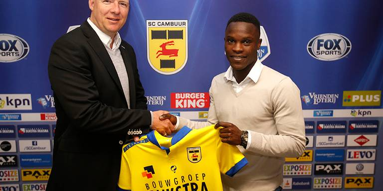 Relegated Dutch Eredivisie side Cambuur complete signing of Ghanaian winger Raymond Gyasi