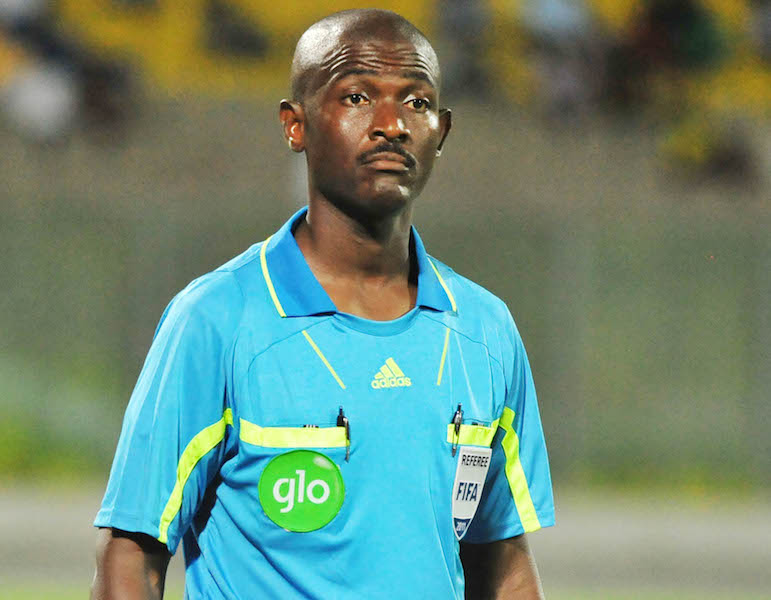 Top-class Ghanaian referee Joseph Lamptey to officiate at 2016 Rio Olympics