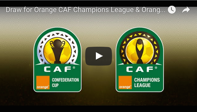 Video: Watch Live draw of CAF inter-clubs group phase