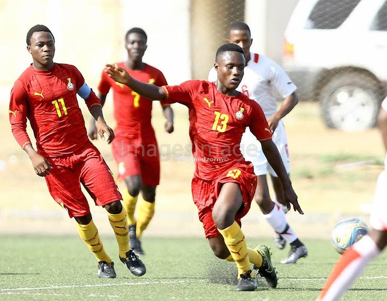 Ghana U17 coach names provisional 25-man squad for next month's African Junior Championship