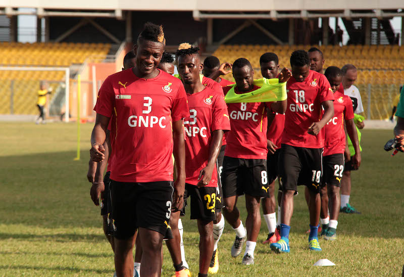 Black Stars to start camping for Mauritius clash in Accra on Monday