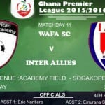 Re-Live the Ghana Premier League LIVE play-by-play: WAFA 0-0 Inter Allies