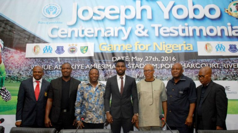 Joseph Yobo pays SuperSport US$ 50,000 to broadcast testimonial