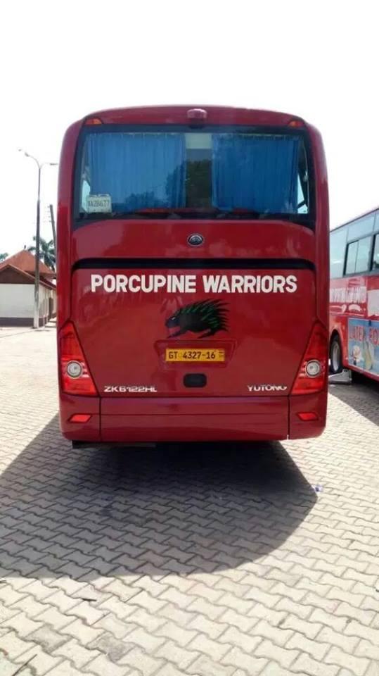 Kotoko team bus