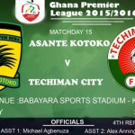 Ghana Premier League LIVE play-by-play: Asante Kotoko - Techiman City FC